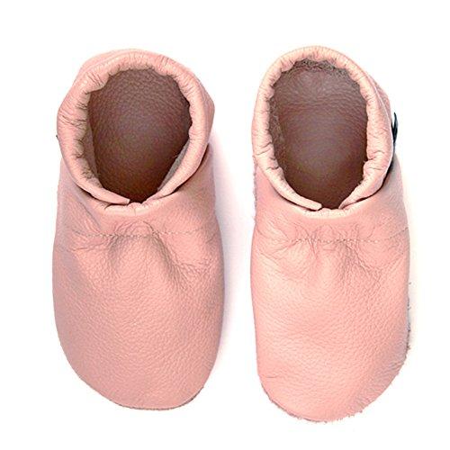 Por Lederpuschen Piel Estar Patschen Unifarben Zapatillas eu 36 Para De Leder Hauschuhe Pantau Pantoffeln Casa Schlappen Mujer Rosa Puschen Schluffen Größen 45 Ua5wgxqZ