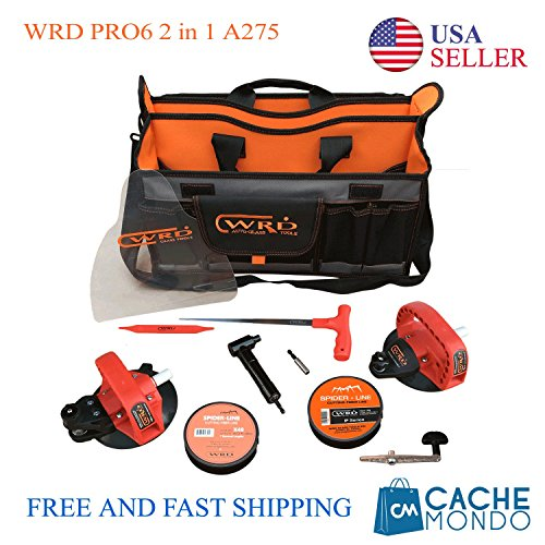WRD Pro6 System 2-in-1 Advanced Kit 275 Auto Glass Removal Tool Kit by WRD (Image #1)