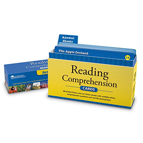 Amazon.com: Comprehension Card Set 1: Learning Resources: Toys & Games