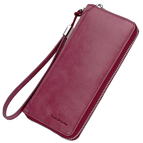 Italian Leather Clutch - 5