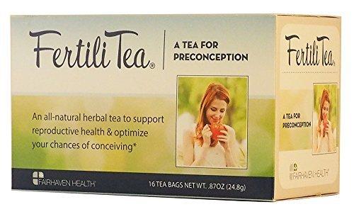 Fertilitea Tea (FertiliTea: Fertility Enhancing Tea in Tea Bags by Fairhaven Health)