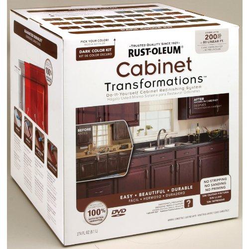 RUST-OLEUM 258242 Dark Tint Base Cabinet Transformations Kit, Large by Rust-Oleum