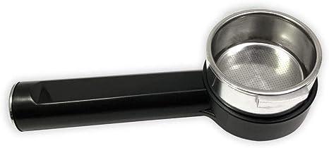 Portafiltros de cafetera Saeco 11026924 con 1 colador: Amazon.es ...