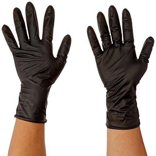 Atlantic Safety Products Aspbls Black Lightning Gloves, Small, Pack of 100 from Atlantic Safety Products
