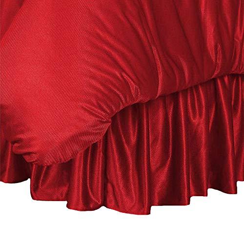 MLB Cincinnati Reds Bed Skirt, Queen, Bright Red (Mlb Bedskirt Queen)