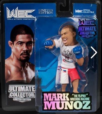 Mark Munoz WEC Round 5 UFC Ultimate Collector Series 11 Limited Edition #/750