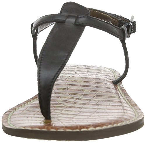 Sam Edleman Gigi - Chanclas para mujer Black Leather