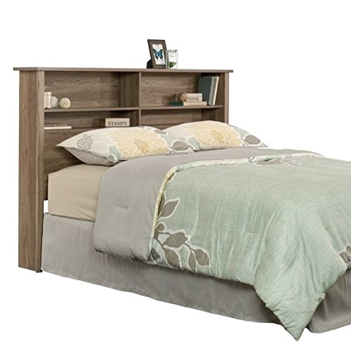 Sauder 419321 County Line Bookcase Headboard, Full/Queen, Salt Oak finish by Sauder