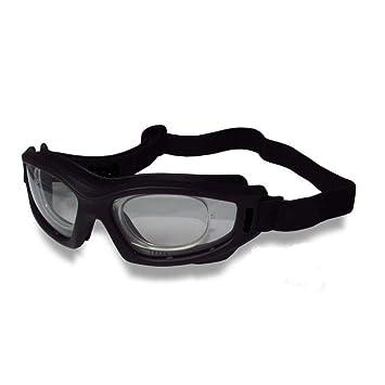 Armação Óculos Segurança DANNY D-TECH Clip Lentes De Grau Airsoft ... 14253dd258