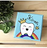 Personalized Baby Teeth Keepsake Box, Tooth Fairy Gift
