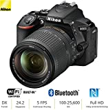 Nikon D5600 24.2 MP DX-Format DSLR Camera w/AF-S 18-140mm f/3.5-5.6G ED VR Lens – (Certified Refurbished)