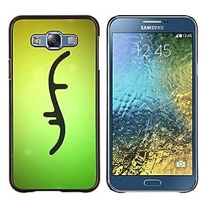 EJOOY---Cubierta de la caja de protección para la piel dura ** Samsung Galaxy E7 E700 ** --Diseño de la muestra