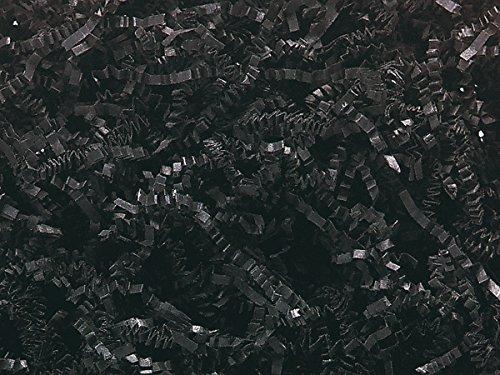 BLACK Crinkle Cut? Paper Shred8 oz. Bag ~ Spring-Fill? Shred (10 unit, 1 pack per unit.)