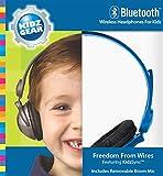 Kidz Gear Bluetooth Stereo Headphones for Kids - BLU