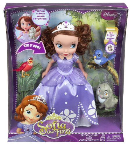 Disney Sofia The First - Talking Sofia and Animal Friends(Manufacturer recommended age: 36 months - 9 (Sofia The First Sleeping Beauty)
