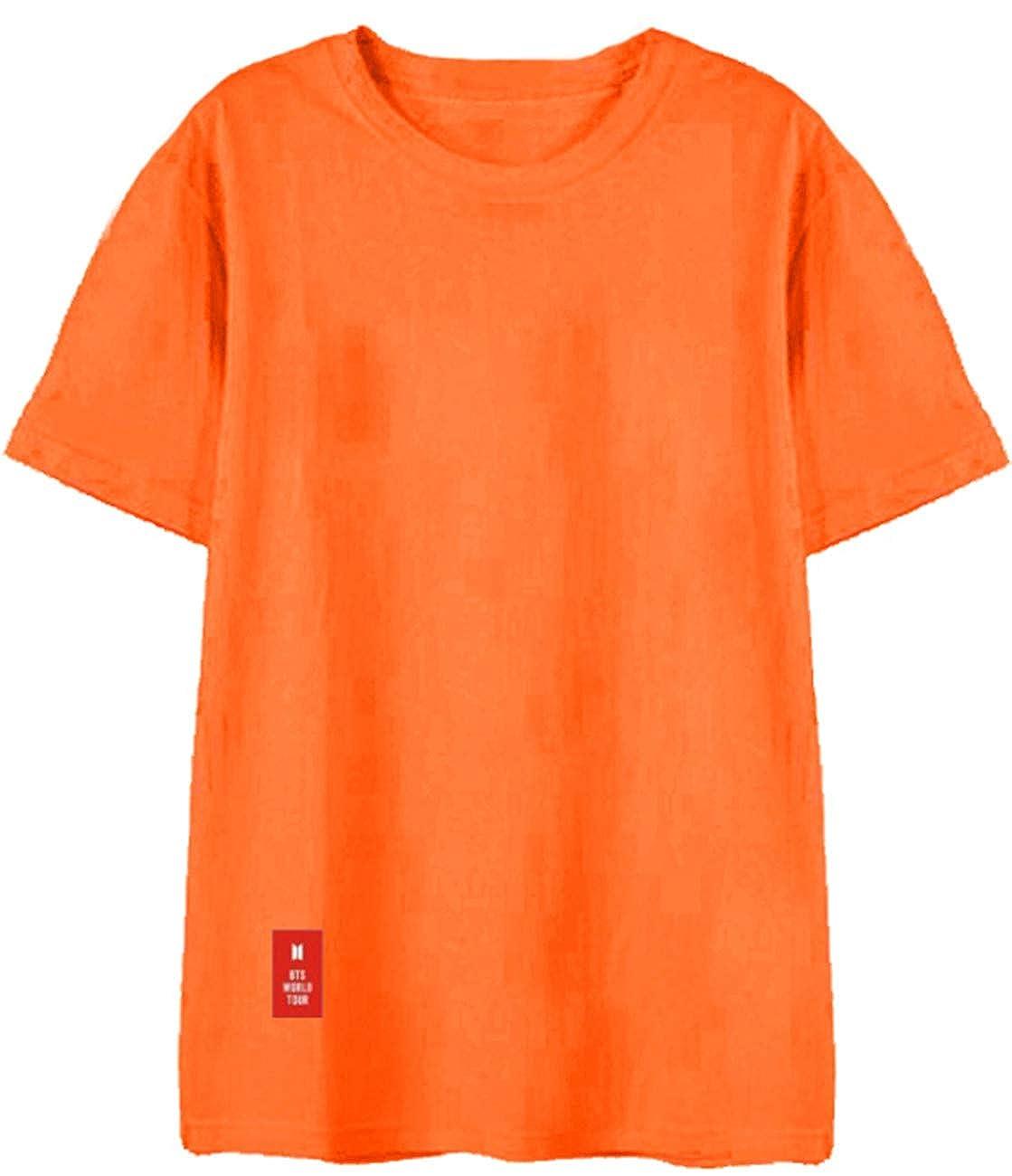 SERAPHY Unisexe T-Shirt Kpop Top Mode Bangtan Boys BTS Tshirt Love Yourself Chemises pour Army Jimin Jung Kook V