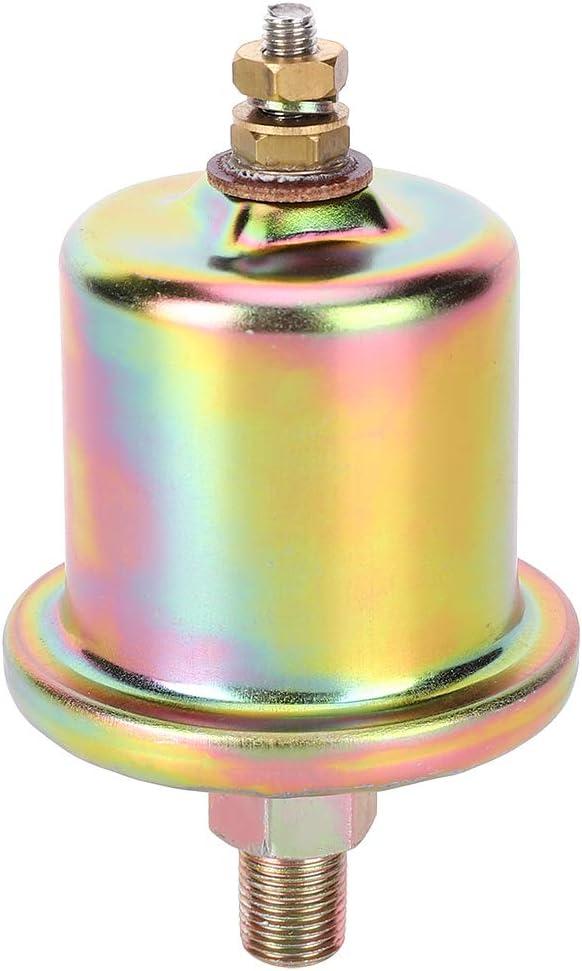 Sensor de presi/ón de aceite de motor de coche Ladieshow 3015237 1Pin Interruptor de cabeza Singel 1//8NPT Sensor de presi/ón de aceite de motor
