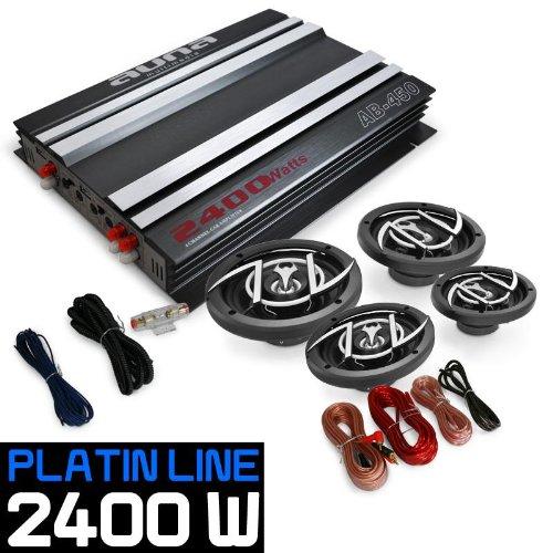 auna 4.0 Car Hifi Set Platin Line 440 Verstä rker Box PL-4.0-PL-440
