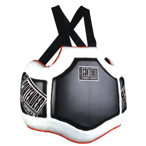 Contender Fight Sports Heavy Hitter Boxing Muay Thai MMA Training Chest Shield Rib Guard Body Protector ()