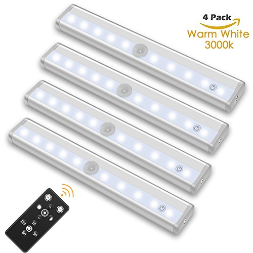 SZOKLED Remote Control LED Lights Bar, Wireless Portable