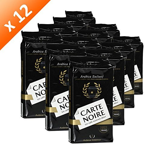 - Coffee Carte Noire Authentic Imported French Gourmet Coffee 250 g (8.8 oz), Twelve