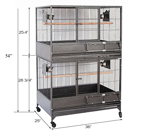 Double Breeder - Mcage NEW Large Double Stackers 1/2
