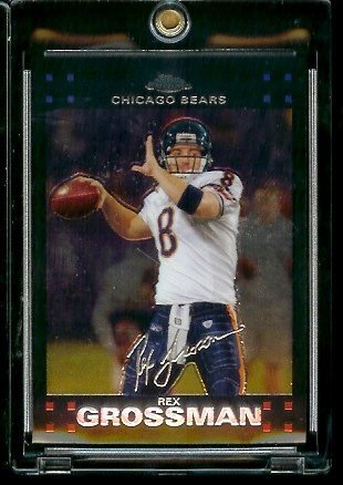 Rex Grossman Nfl Football - 2007 Topps Chrome # TC57 Rex Grossman - NFL Football Cards