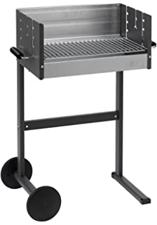 DANCOOK 7200 - Barbacoa con parrilla, 50x25 cm, cocción horizontal y vertical (parrilla