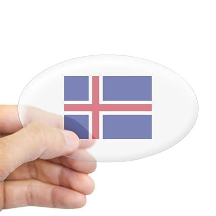 Amazon Com Cafepress Iceland Flag Oval Bumper Sticker Euro