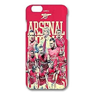 Arsenal Football Club Logo 3D Plastic Shell Accessory Many People Creative Cover Case Back Skin for Iphone 6 4.7 (Inch)