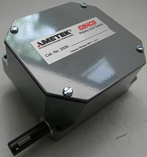 Ametek Gemco Geared Rotary Limit Switch, P/N: AME-2006-402-L-120-A