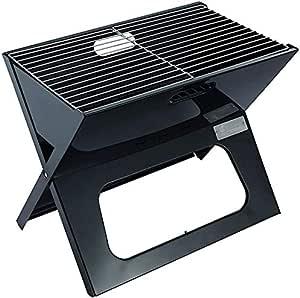 XDDWD Parrilla al Aire Libre, Parrilla de carbón portátil, Plegable Grill, Ligero, con Net, fácil de Llevar, Ligero Parrilla al Aire Libre, Barbacoa