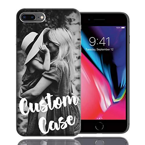 MUNDAZE Design Your Own Custom iPhone Case w/Glass Screen Protector