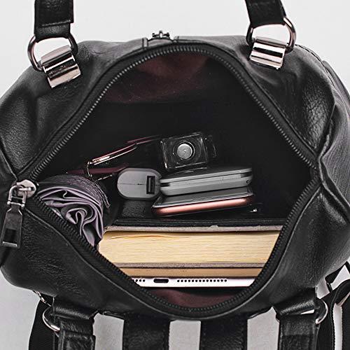 para Mounter Negro al Bags DH Negro Bolso SB GB34E ER26D Mujer Negro Hombro ffCqYT