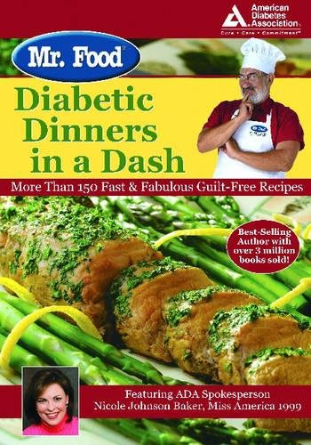 Read Online Mr. Food: Diabetic Dinners in a Dash pdf