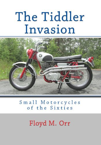 The Tiddler Invasion: Small Motorcycles of the Sixties (Color - Hummer Harley Davidson