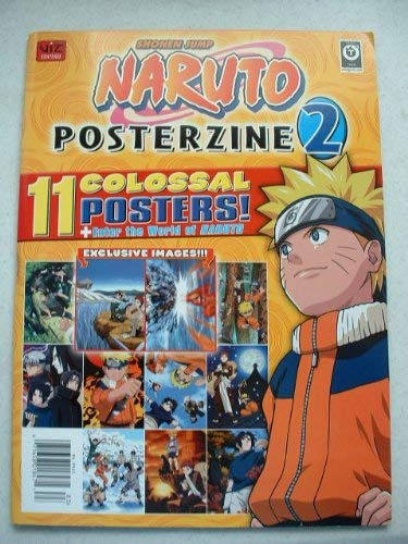 (Shonen Jump Naruto Posterzine 2 (11 Colossal Posters) [Paperback] [2008] YUKI TAKAGAKI)