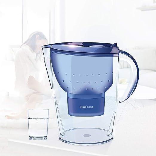 XSGDMN Jarras con Filtro de Agua Jarra de Agua Grande de 3.5 L ...