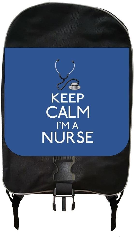 Keep Calm Im a Nurse-Blue Backpack