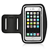 Water Resistant Cell Phone Armband for iPhone 8, 7, 6, 6S, SE, 5