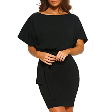 Innerternet-vestido, Camiseta de Vestido Delgada de Cadera ...