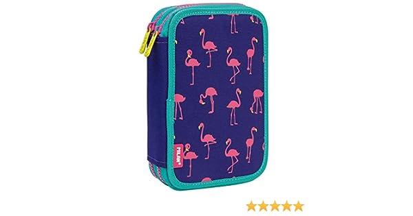 Estuche Milan Flamingos Doble 36 Piezas: Amazon.es: Oficina y papelería
