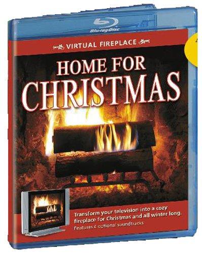 Virtual Fireplace: Home for Christmas [Blu-ray]