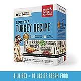 Honest Kitchen Human Grade Dehydrated Grain Free Turkey Dog Food 4 lb Box??? Embark