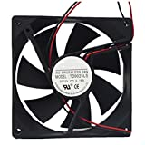 Tebuyus TD9025LS 9025 12V 0.16A 2 Pin Hydraulic Quiet Cooling Fan 90×90×25mm