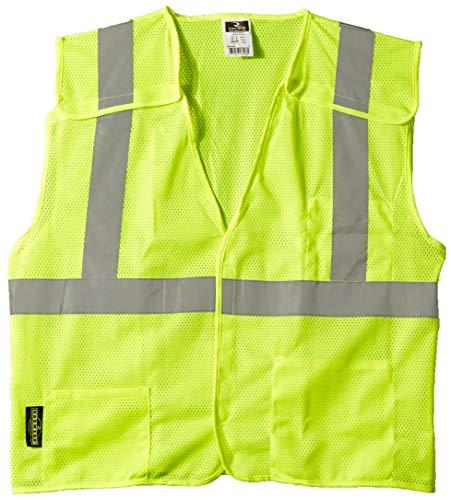 Radians SV4GML Economy Class 2 Breakaway Mesh Safety Vests, Large, Green