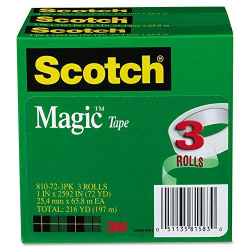 Scotch Magic 810 Invisible Tape, 1