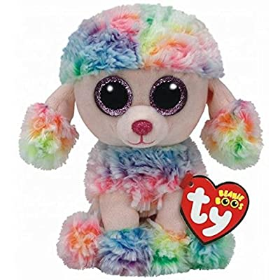 TY 37223 Beanie Boos Rainbow Dog Reg, Small: Toys & Games