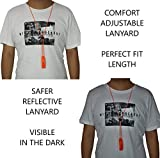 LuxoGear Emergency Whistles with Lanyard Safety
