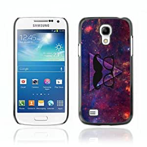 Designer Depo Hard Protection Case for Samsung Galaxy S4 Mini / Awesome Hipster Moustache Triangle by icecream design